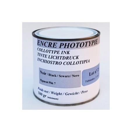 Encre phototypie noire 500gr