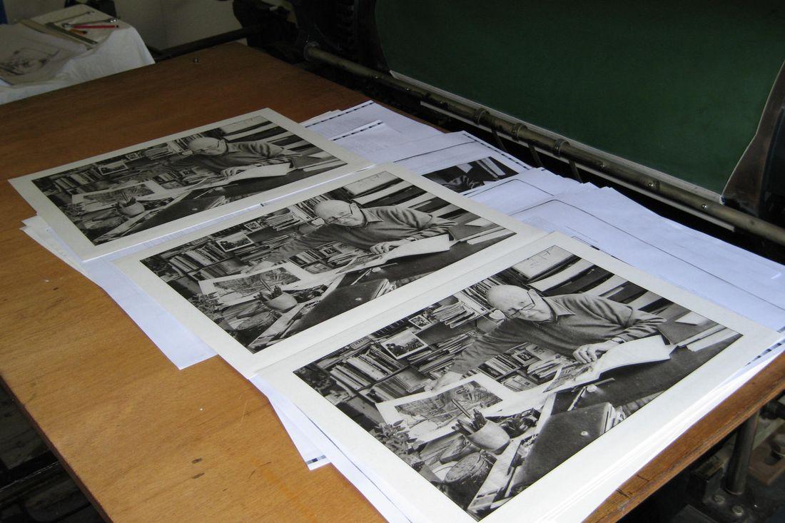 Photo Épreuves imprimées en phototypie