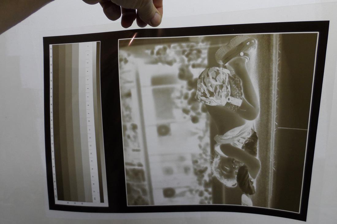 Photo Négatif numérique jet d'encre
