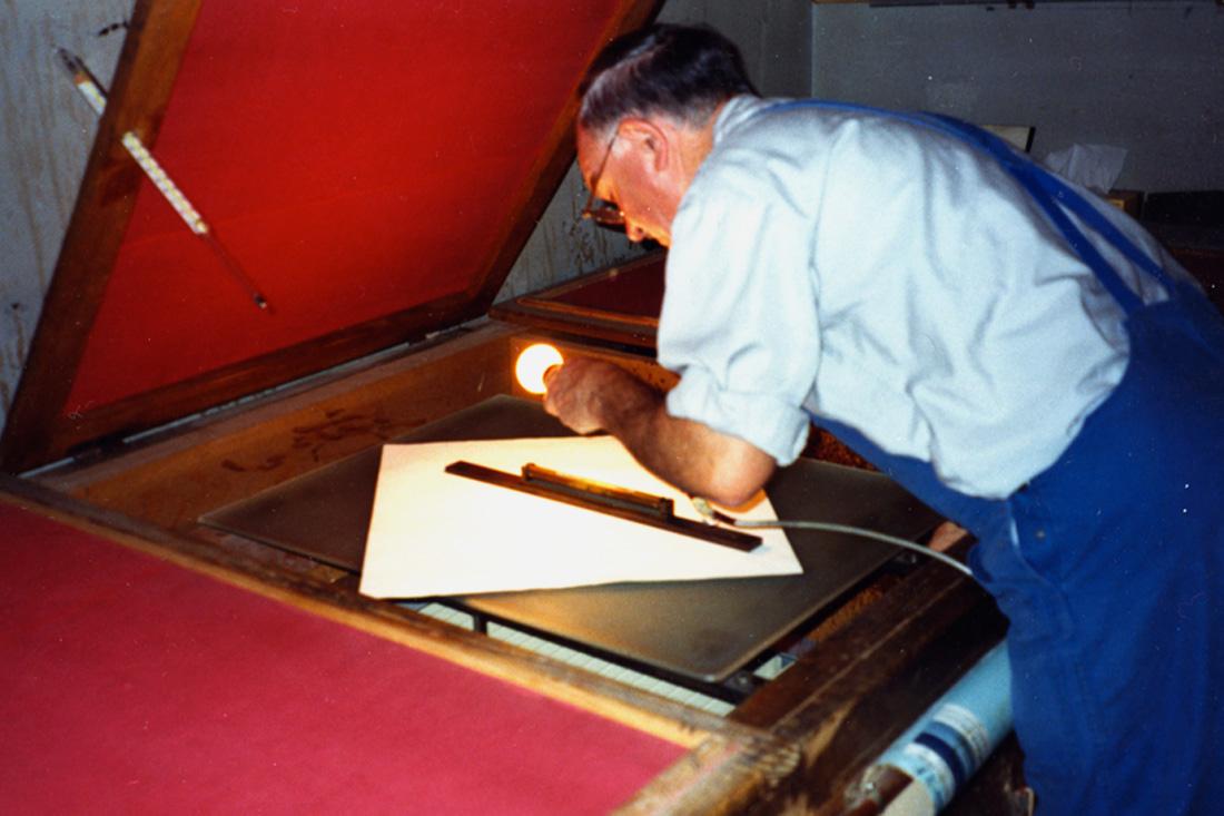 Photo Mise à niveau des plaques de verre dans l'étuve